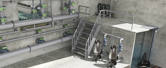 Grundfos Wastewater Treatment-Water Treatment