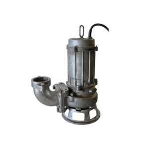 Tsurumi Cast Stainless Steel Pumps with Cutter Impeller CQ