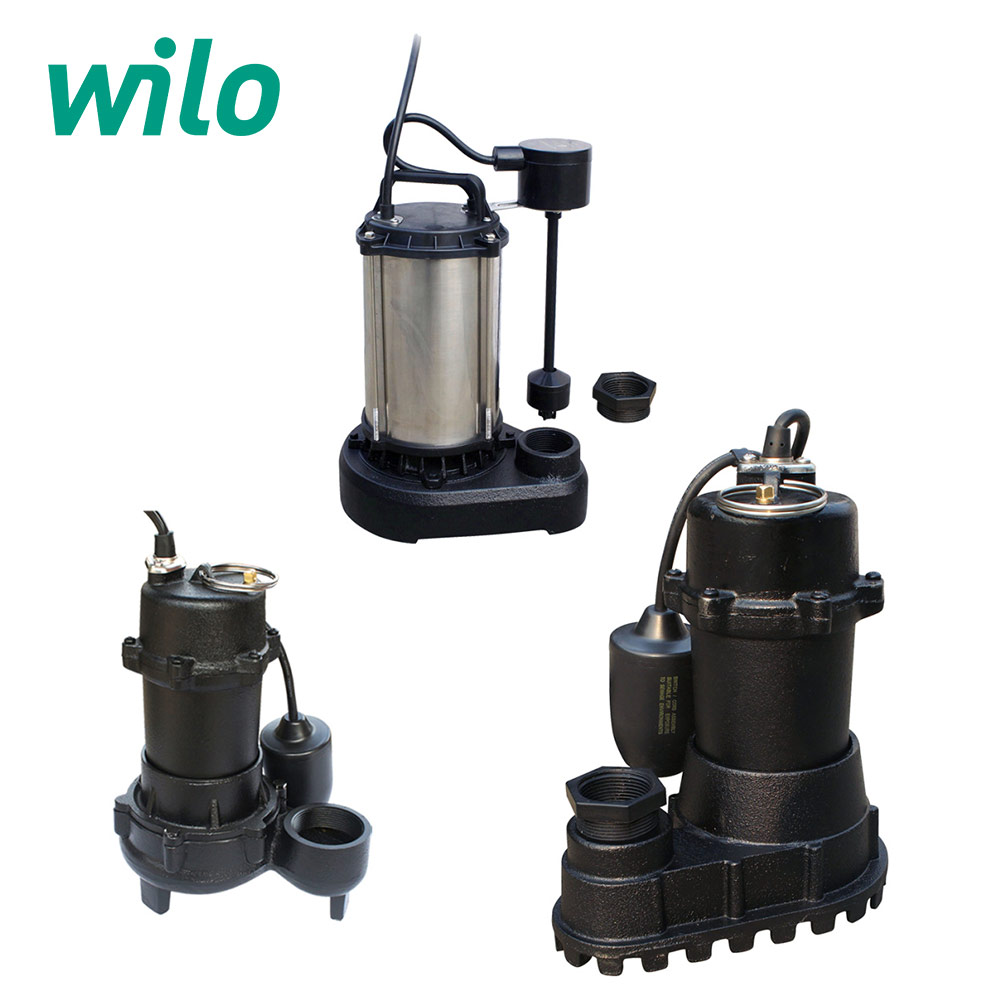 Wilo Sump & Sewage Pumps SP Series